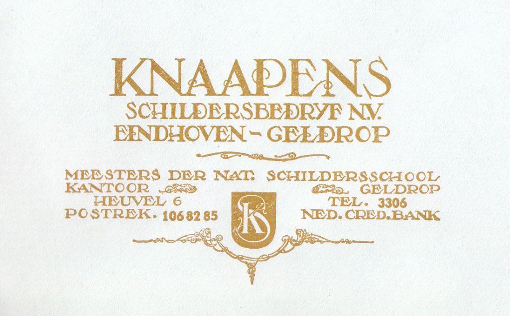 Oud logo van KnaapenGroep